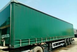 SALE OR HIRE OF 2005 SDC MOFFETT PILLARLESS CURTAINSIDER TRAILER, JAN '21 MOT