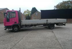 2006 (06) IVECO EUROCARGO ML75 E18 180 DROPSIDE FLATBED TRUCK, MANUAL GEARBOX