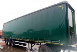 SALE OR HIRE OF 2011 MONTRACON 4.55m PILLARLESS CURTAINSIDER TRAILER, FEB 20 MOT