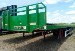 SALE OR HIRE OF 2011 MONTRACON GENUINE POST AND SOCKET FLAT TRAILER, JULY 20 MOT