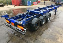 QUANTITY OF 2011 MONTRACON SLIDING SKELLY TRAILERS, BPW DRUMS, VARIOUS MOT'S