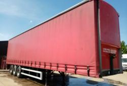 CHOICE OF TWO 2011 LAWRENCE DAVID 4.515m CURTAINSIDER TRAILERS FOR SALE OR HIRE