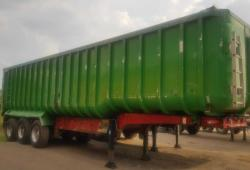 SALE OR HIRE OF 2004 FRUEHAUF 65cu yd TASCC BATHTUB TIPPER TRAILER, 8/20 MOT