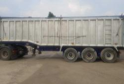 WBS TRI AXLE STEP FRAME TASCC TIPPER TRAILER, SEPT '19 MOT, ROR DRUMS, VGC
