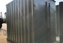 CHOICE OF 10ft GREEN SHIPPING / STORAGE CONTAINERS, WIND AND WATERTIGHT, VGC