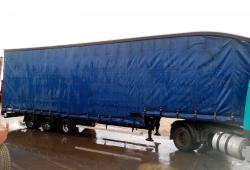 SALE OR HIRE OF 2008 CONCEPT 4.75m STEP FRAME DOUBLE DECK CURTAINSIDER TRAILER