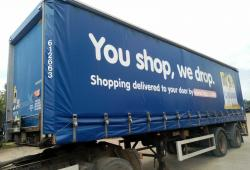 CHOICE OF 2005 LAWRENCE DAVID 10m URBAN TANDEM CURTAINSIDER TRAILERS, REAR STEER