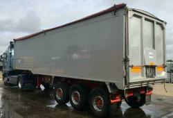 SALE OR HIRE OF 2011 WILCOX 65cu yd TASCC PLANK SIDER TIPPER TRAILER, 7/20 MOT
