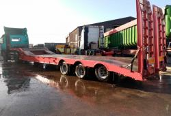 SALE OR HIRE OF 1999 ANDOVER SFCL40 STGO LOW LOADER TRAILER, AUG '20 MOT, RAMPS