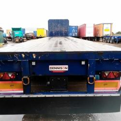 SALE OR HIRE OF 2010 DENNISON POST AND SOCKET GENUINE FLAT TRAILER, MAY '20 MOT