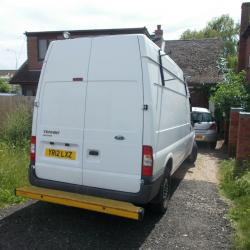 2012 FORD TRANSIT, WORKSHOP IN REAR, ONE OWNER FROM NEW, 143,000 MILES, 5/20 MOT