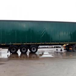 SALE OR HIRE OF 2011 MONTRACON 4.55m PILLARLESS CURTAINSIDER TRAILER, JAN 20 MOT