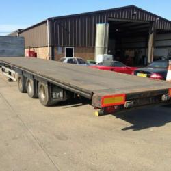 SALE OR HIRE OF 2007 / 2008 SDC MEGA SLOPER FLAT BALE TRAILERS, ROR DRUMS, MOT'S