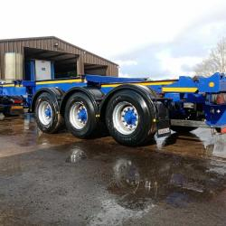 SALE OR HIRE OF 2015 - 2016 DENNISON 20/40 SLIDING SKELLY TRAILERS, BPW DRUMS