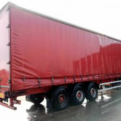 SALE OR HIRE OF 2007 M&G 4.55m TRI AXLE CURTAINSIDER TRAILER, OCT '20 MOT