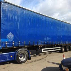 SALE OR HIRE OF MONTRACON MEGA 4m/4.35m CURTAINSIDER TRAILERS, VARIOUS MOT'S