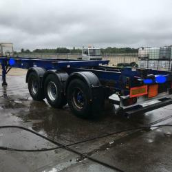SLIDING SKELLY / SKELETAL TRAILERS SUPPLIED TO UK OPERATORS AND WORLDWIDE EXPORT
