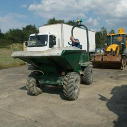 2011 THWAITES THREE TONNE DUMPER, ROAD LEGAL, NUMBER PLATES, YANMAR ENGINE, VGC