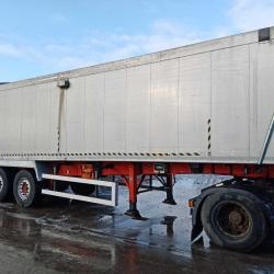 2011 WEIGHTLIFTER TASCC PLANKSIDE SLOPER TIPPING TRAILER, APR 21 MOT, ELEC SHEET