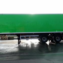SALE OR HIRE OF 2011 GRAY & ADAMS REAR STEER URBAN INSUL BOX TRAILER, TAIL LIFT