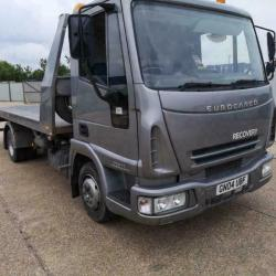 2004 TILT AND SLIDE IVECO EUROCARGO ML75E17S RECOVERY TRUCK / CAR TRANSPORTER