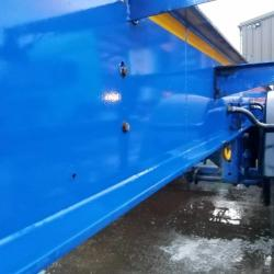 SALE OR HIRE OF 2011 SDC 40ft FIXED FOUR PIN SKELLY TRAILER, BELT BULKER, MOT