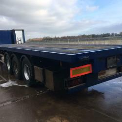 SALE OR HIRE OF 2007 MONTRACON POST AND SOCKET GENUINE FLAT TRAILERS, MOT'S
