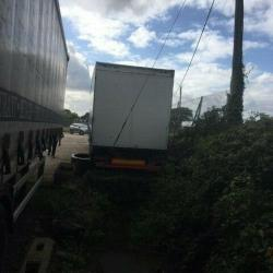 2011 DON BUR 15.65m LONGER SEMI TRAILER (LST), SELF TRACKING CURTAINSIDER / FLAT