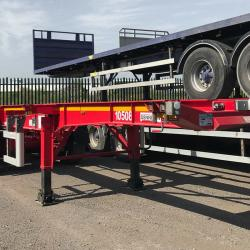 CURTAINSIDER, EUROLINER, FLAT, LOWLOADER, TIPPER, SKELLY ETC TRAILERS FOR HIRE