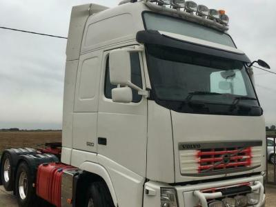 VOLVO FH13, XL, 520, MANUAL, TAG AXLE, AIR SUS, HUB REDUCTION, 80 TON, STGO 6x2