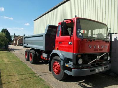 1984 VOLVO F7 6x4 VINTAGE TIPPER TRUCK, 165,000km's, EXCELLENT CONDITION