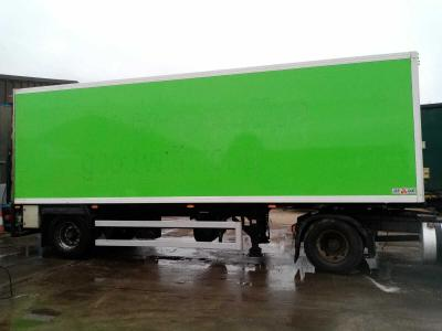 SALE OR HIRE OF 2011 GRAY & ADAMS 9m INSULATED URBAN BOX TRAILER, TAIL LIFT, MOT