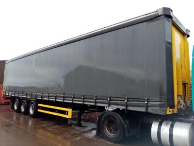 SALE OR HIRE OF 2007 SCHMITZ 4.2m CURTAINSIDER TRAILER, SEPT '20 MOT, SAF DRUMS